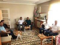 Başkan Bakıcı'dan yardımcısı Kuru'ya geçmiş olsun ziyareti