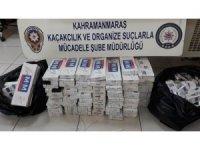 Sigara kaçakçıları polisten kaçamadı