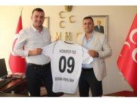 """MHP'li Pehlivan; """"Aydınspor 1923 için her türlü desteği vermeye hazırız"""""""