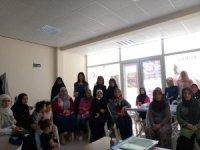Kartepe'deki Suriyeli kadınlara meslek kursu