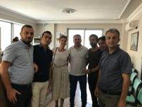 """CHP İlçe Başkanından """"Değişim ve Umut"""" için imza"""
