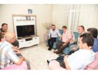 Başkan Doğan'dan trafik kazasında 3 ferdini kaybeden aileye ziyaret