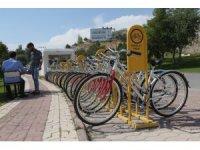 Sivas'ta ücretsiz bisiklet uygulaması