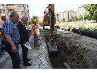 Isparta Belediye şehrin altyapısını santim santim işliyor