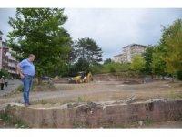 Alaplı Karşıyaka Aile Park çalışmalarına başlandı