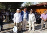 Vezirhan'da kutsal topraklara gidecek olan hacı adayları uğurlandı