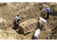 Tripolis'teki 12 odalı mozaikli villanın 4 odası daha gün yüzüne çıkarılacak