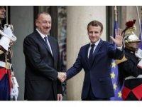 Aliyev, Fransa'da