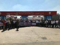 AK Parti Ankara Gençlik Kolları Sincan Adliyesi önünde toplandı
