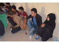 Hatay'da 16 kaçak göçmen yakalandı