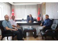 Başkan Karabacak'tan Kaçar'a Hayırlı Olsun Ziyareti
