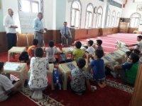 Kaymakam Sırmalı'dan yaz dönemi Kur'an Kurslarına ziyaret