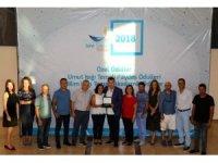 Başkan Kocadon'a Yılın Doğa Dostu Şehri Ödülü verildi