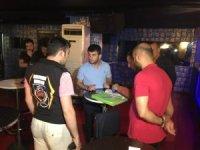 Taksim'de turizm polisinden şok uygulama