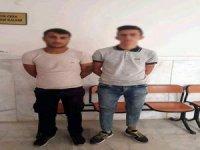 Suçüstü yakalanan hırsızlık şüphelileri tutuklandı