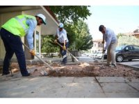Aksaray'da belediye çalışmaları sürüyor