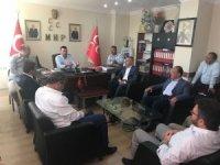 AK Parti'li vekillerden MHP İl Teşkilatına ziyaret
