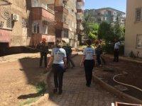 Yenişehir'de temizlik çalışması
