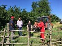 İzmit Belediyesi  köylüleri bilgilendiriyor