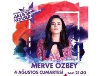 Forum Bornova Yaz Akşamı Konserlerinde Merve Özbey