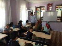 Kaymakam Yenigün, Kuran kursu öğrencileriyle buluştu
