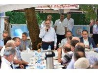 """Başkan Şahin: """"Hedefimiz tarım, sanayi ve turizmde en iyi noktaya gelmek"""""""