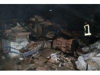 Devriye bekçilerinin dikkati yangının büyümesini önledi