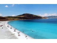 Turizmcilerin rotası, Türkiye'nin Maldivleri Salda Gölü'ne döndü