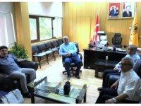 Rektör Karacoşkun Dicle Üniversitesi'ne çalışma ziyaretinde bulundu