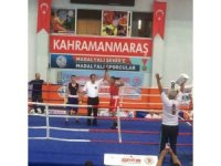 İskenderun Belediyesporlu boksör Türkiye ikincisi oldu