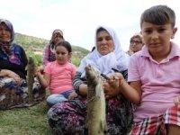 Domaniç'teki balık ölümlerine vatandaşlardan tepki