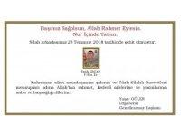 Genelkurmay Başkanı Orgeneral Güler'den şehit için başsağlığı mesajı