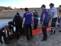 Elazığ'da sulama göletine giren genç boğuldu