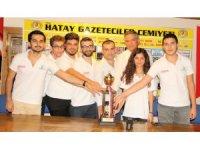Hataylı satranççılar namağlup şampiyon oldu