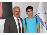 Hataylı genç sporcu Türkiye'yi temsil edecek