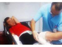 Samsun'da silahlı saldırıya uğrayan genç yaralandı