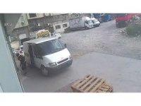 İstanbul'da organize hırsızlık çetesi çorap fabrikasını soydu