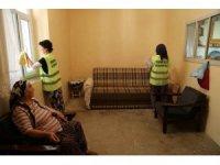 Tunceli'de yaşlı ve bakıma muhtaçlara örnek hizmet