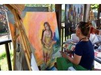 İncirliova'da Ulusal Resim Çalıştayı başladı