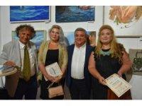 Ukraynalı ressamlar Kuşadası'nı çizdi