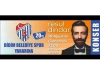 Resul Dindar, Didim Belediyespor için söyleyecek