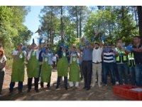 Sinop'ta 2 bin sülün doğaya salındı