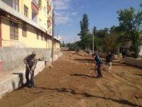 Balışeyh'te sokaklar kilitli parke ile kaplanıyor