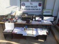 Hatay'da sahte pasaport şebekesi çökertildi