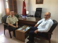 Başkan Kutlu Albay Gürfidan ile bir araya geldi
