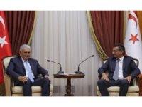 TBMM Başkanı Yıldırım, KKTC Başbakanı Erhürman ile görüştü