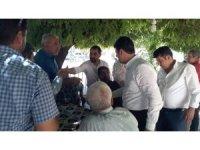 CHP Heyeti teşekkür gezilerini sürdürüyor