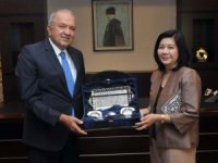 Taylan Ankara Büyükelçisi GSO'yu ziyaret etti