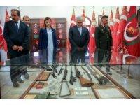 TBMM Başkanı Yıldırım, Kıbrıs Türk Barış Kuvvetleri Komutanlığında