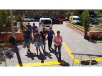 Gasp zanlısı 4 kişi adli kontrol şartıyla serbest bırakıldı